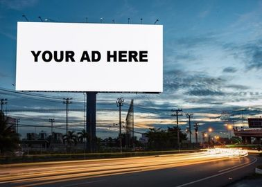 P5.95 Outdoor Billboard LED Display For Advertising Fixed High Contrast Ratio