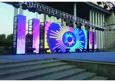 Seamless P3.91  LED Display , Outdoor Rental Led Screen Lower Power Consumption